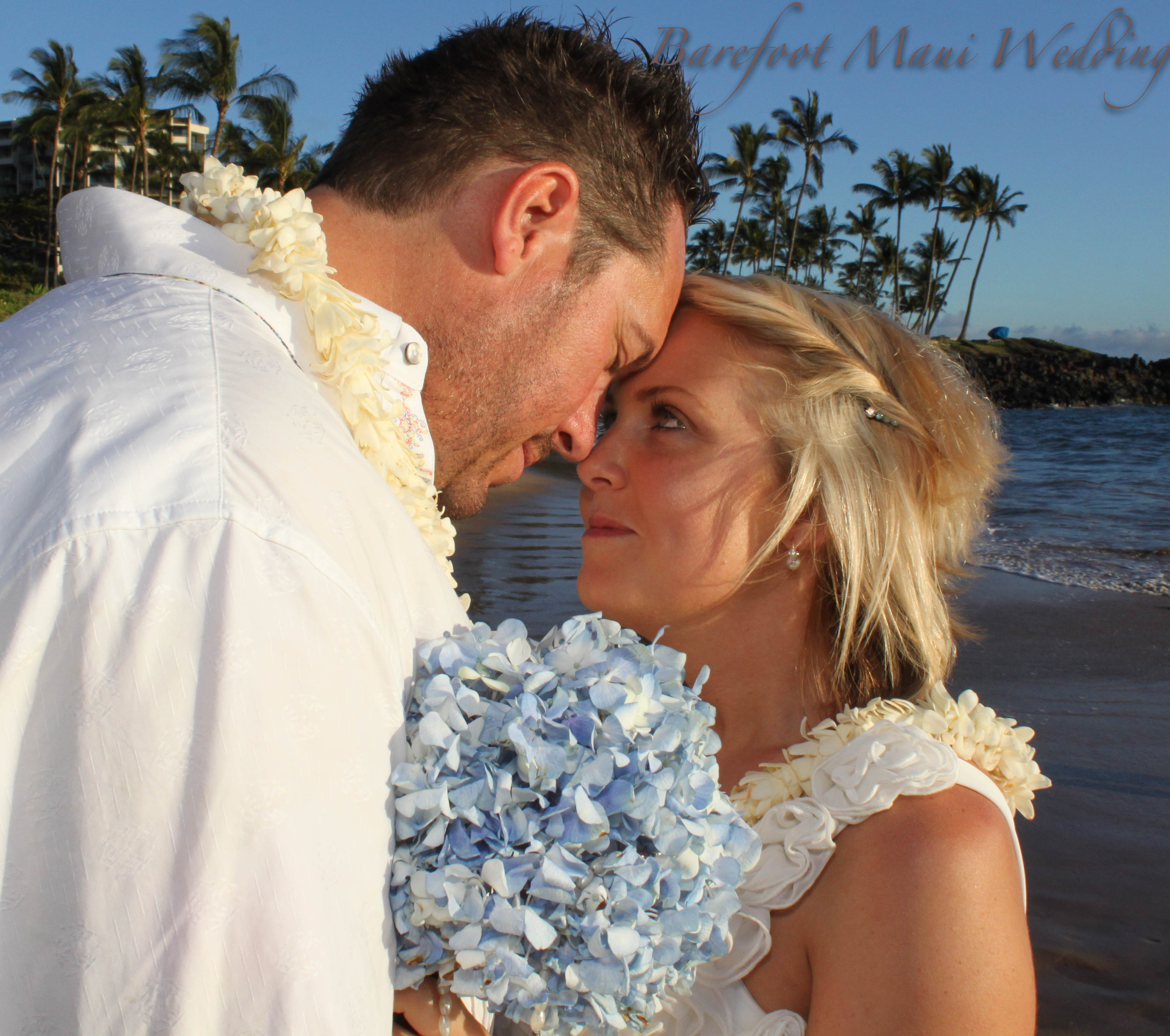 Maui Wedding Photography Reviews: Barefoot Maui Wedding Floral PHotography-15