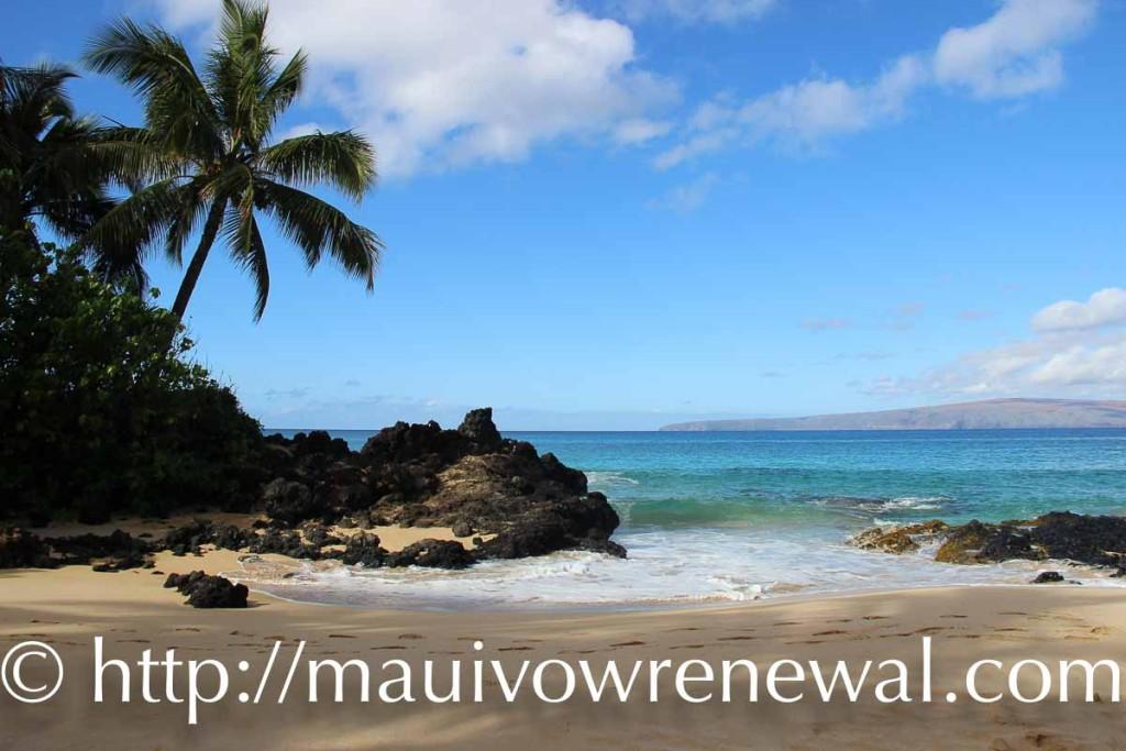 Cheap Maui Vow Renewal beach location